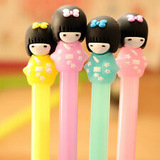 12PCS kids birthday party gift kimono girl gel pen baby shower favor souvenir