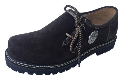 Echt Halbschuhe Schuhe Herren Leder Haferlschuhe Trachten braun D Wanderschuhe 60S1gwq