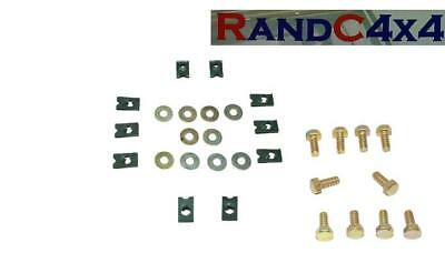 WASHERS SERIES /& DEFENDER FRONT WING TO A-POST BOLTS CLIPS 10 X AM605061