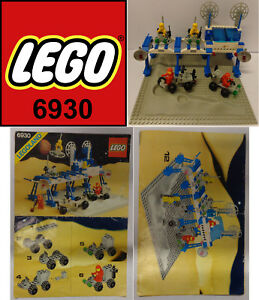 Game-Gioco-LEGO-Space-Classic-Spazio-1983-Completo-6930-1-Space-Supply-Station