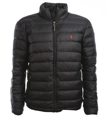 Polo Ralph Lauren Mens Down Winter Jacket Down Jacket Black Size S 5XL | eBay