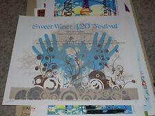 SWEETWATER 420 FESTIVAL POSTER; 4/19-20/08 CHANDLER PARK ATLANTA, GA; LUCCHESI