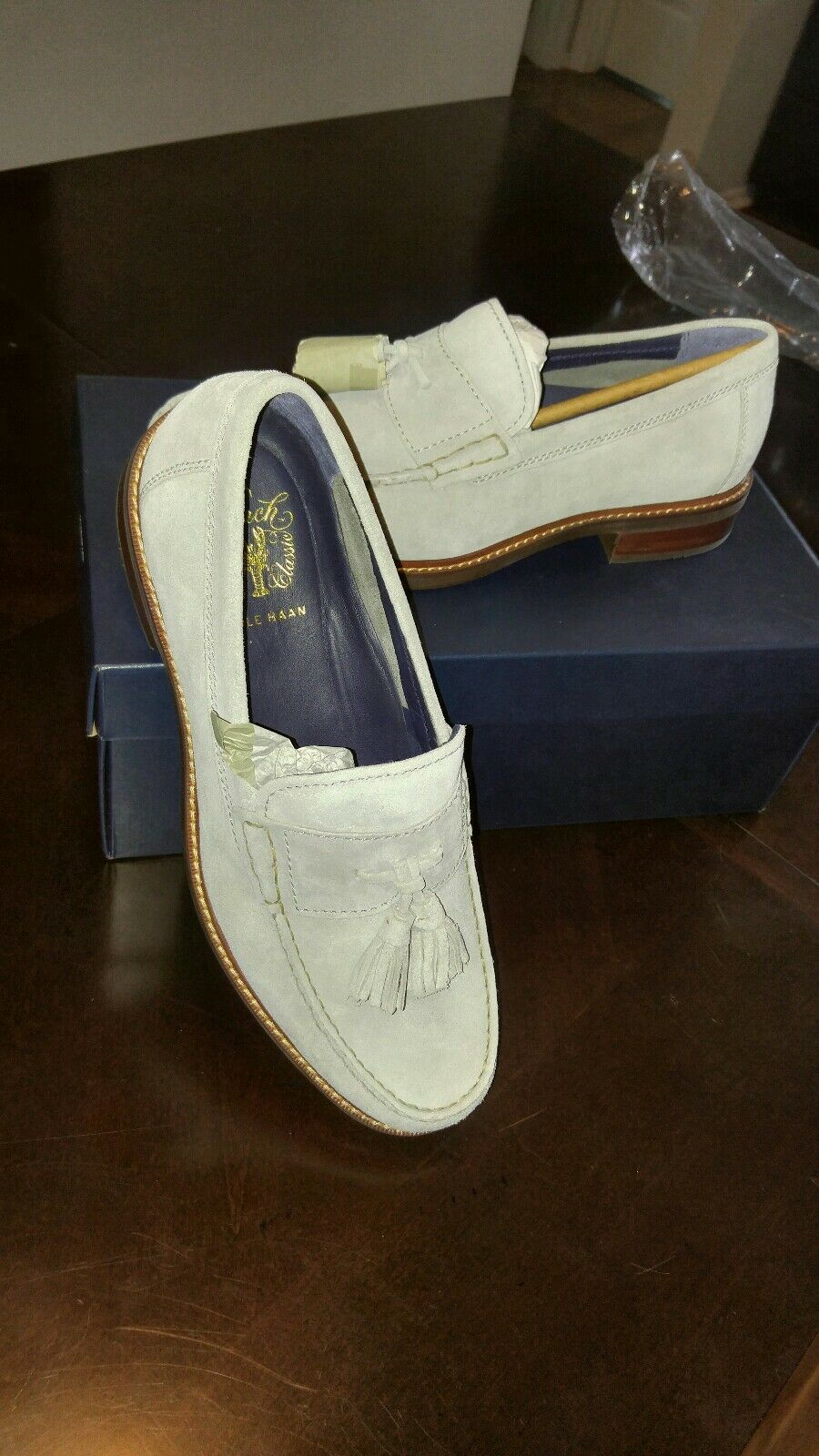 Cole haan loafers 10. Light grey