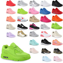 Damen Sportschuhe Camouflage Runners Laufschuhe Sneakers 78871 Trendy Neu