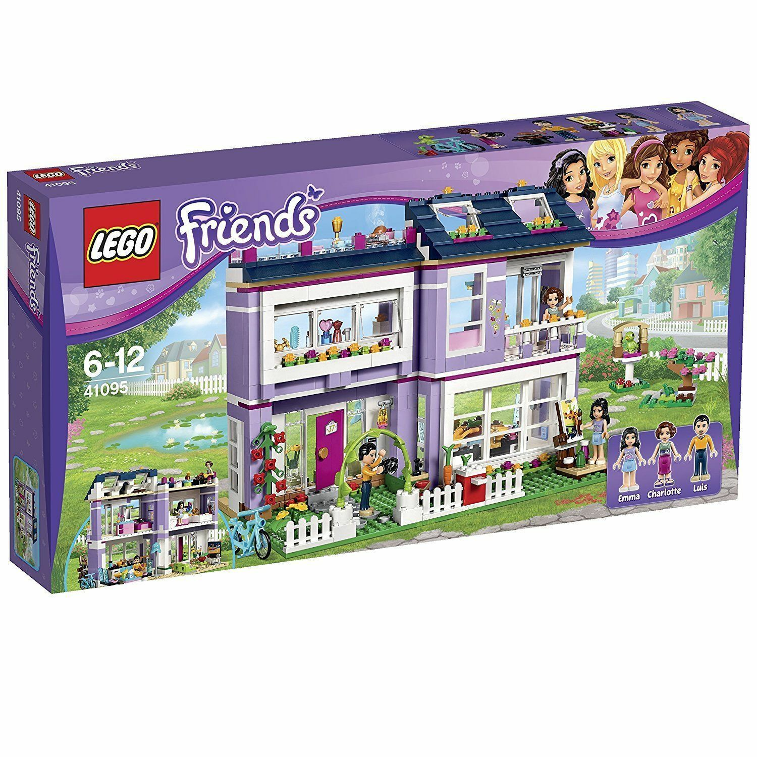 LEGO Friends Emma's House 41095 New