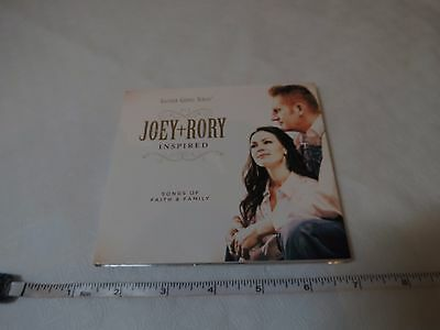 Inspired Songs of Faith & Family Digipak Joey + Rory CD Gaither Gospel series