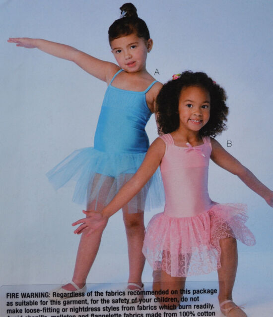 Kwik Sew Sewing Pattern 4108 Leotards Attached Skirt Dance Costume ...