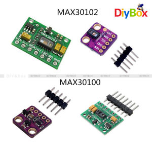 Details about Heart Rate MAX30102/MAX30100 Breakout Sensor Blood Oxygen  Transducer for Arduino