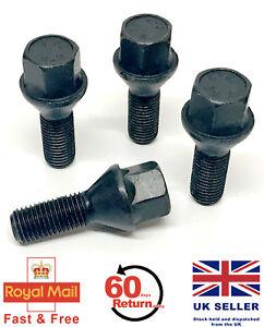 Paquete De 20 Pernos De Rueda de Cromo Lugs Tuercas Tapas Cubre hexagonal de 17mm Para VW