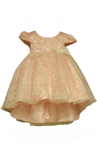 Bonnie Jean Easter Spring Birthday Baby Girl/'s High Low Party Dress 0-24 Months