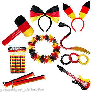 Deutschland Fanartikel 2020 Fußball EM WM Germany Flagge Party Fan Fahne Hut Car