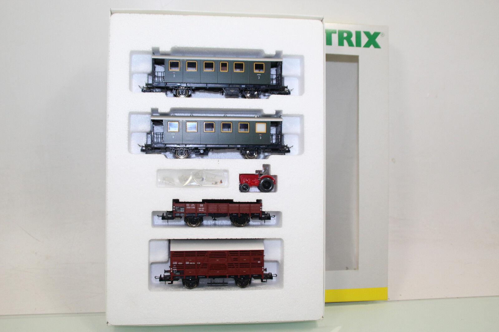 Trix h0 23944 wagenset 4tlg. además de ferrocarril de la DB con KKK como nuevo en embalaje original (nl4352)