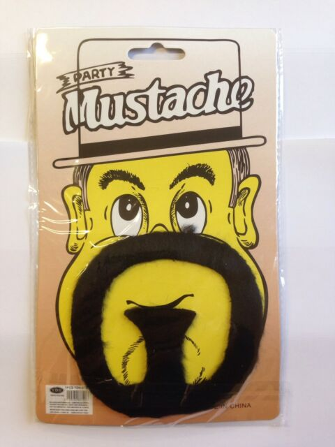 New Stick on Pirate Beard Facial Moustache Goatee Jack Tash Sparrow FX Fake Hair