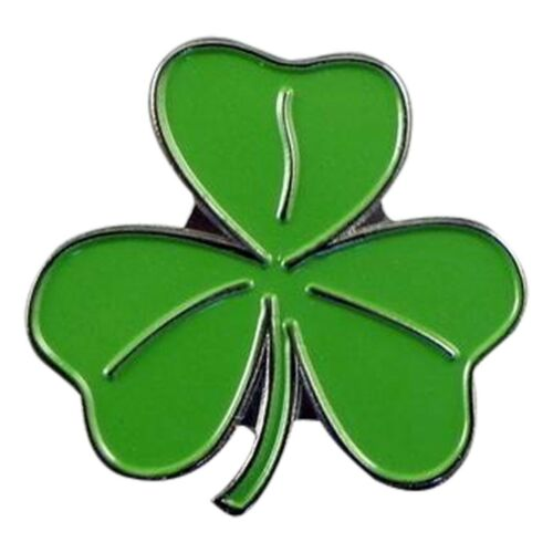 Irish Shamrock Leaf Metal Enamel Lapel Pin Badge XJKB9-55