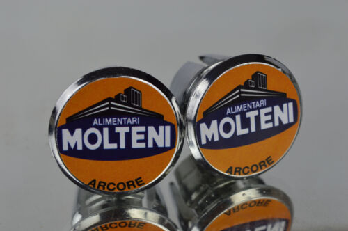 Eddy Merckx Team Molteni Handlebar End Plugs Bar Caps lenkerstopfen bouchons