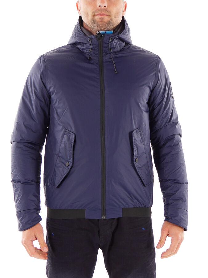 Brunotti chaqueta tiempo libre chaqueta de transición chaqueta macellos azul oscuro caliente