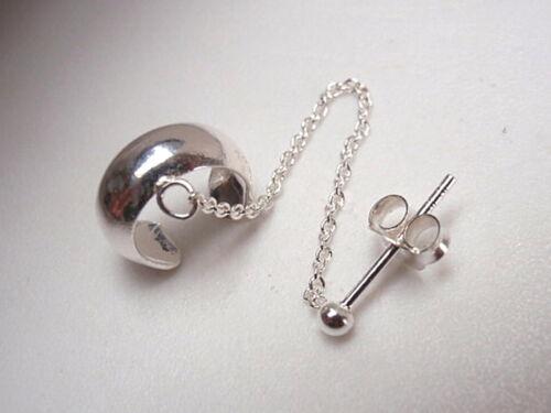 Plain Band Bijou d/'oreille avec 1.5 mm Ball Stud 925 D/'Oreilles Sterling Silver Corona Sun