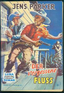 Luna-Western-Nr-121-von-1959-TOP-Z1-Romanheft-von-Jens-Parker-Lehning