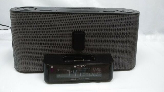 Sony Dream Machine ICF-C1iPMK2 IPod IPhone Dock Radio Alarm Clock Bluetooth