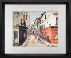 Maurice Utrillo Limited Edition Lithograph *SIGN w/FRAME Included