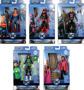 DC-Multiverse-6-034-WAVE-8-ACTION-FIGURE-SET-Superman-Batwoman-Two-Face-Cruz