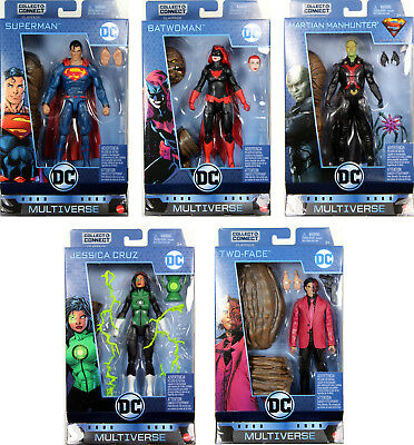 "DC Multi-Univers 6/"" Martian Manhunter Supergirl TV Clayface no CNC neuf Loose"