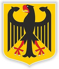 German Coat of Arms sticker Crest bumper decal Wappen Stickers auto helmet car