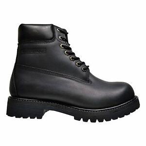 fuda 6063 s high top waterproof smooth leather