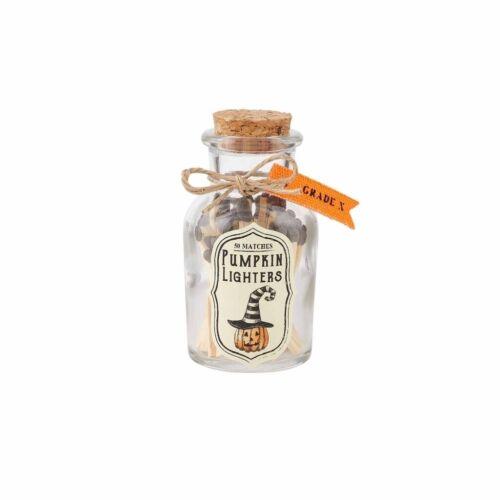 Details about  /Mud Pie H0 Halloween Home Decor Match Bottle Set 42600550 Choose Design