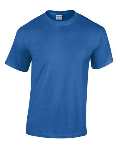 5 10 Homme T-Shirt Heavy Coton Bruyère Couleurs À 5XL XXXXXL Grandes Haut Te