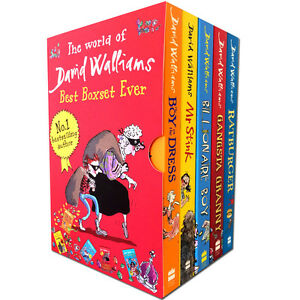 World-of-David-Walliams-Collection-5-Book-Set-Ever-NEW-Billionaire-Boy