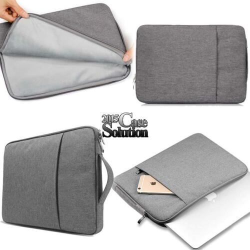 "Universal Sleeve Case Carrying Hand Bag For 10/"" 11/"" 13/"" 14/"" 15/"" Laptop Notebook"