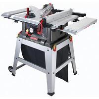 Craftsman 10 Table Saw Precision Speed Laser Trac Woodworking Metal Shop Garage