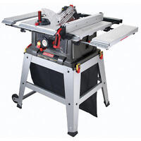 Craftsman 10 Table Saw Precision Speed Laser Trac Woodworking Metal Shop Garage