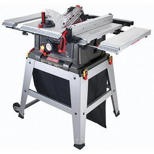 Craftsman 10 Table Saw Precision Speed Laser Trac Woodworking Metal Shop Garage Ebay