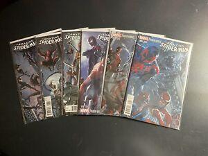 Marvel-Comics-Amazing-Spider-Man-Spider-Verse-9-10-11-12-13-14-DellOtto-Variant