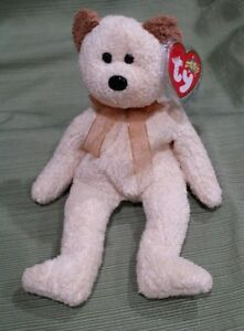 Ty Beanie Baby Huggy the Bear - 2000 MWMT Retired