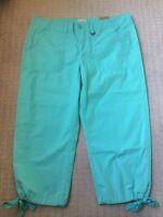G.h. Bass & Co. Sz 8 Womens Capri Pants S-4
