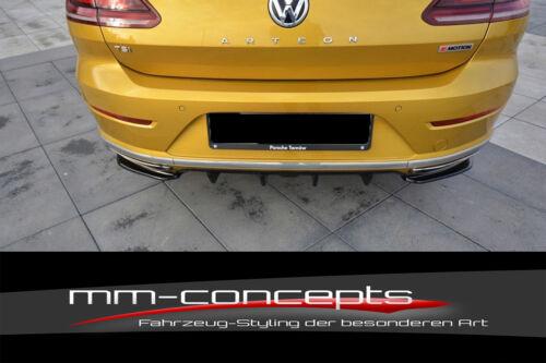 CUP Diffusor Ansatz CARBON für VW Arteon R-Line Heck Stoßstange