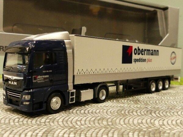 1 1 1 87 Herpa MAN TGX XLX E6 Obermann Planen SZ 933353  | Fairer Preis  1be234