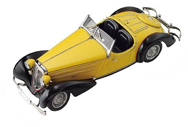 1935i 225 Front roadster noir jaune 1 18 Diecast voiture modèle par MCC 075 A