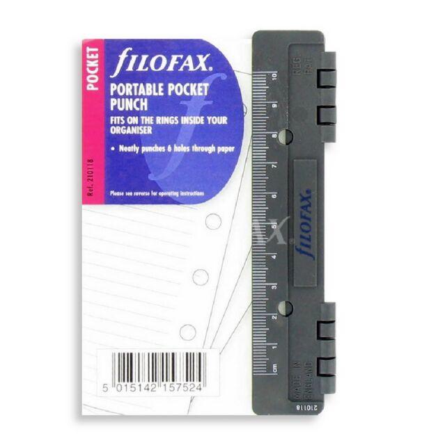 Filofax Pocket Size Fashion Coloured Ruled Notepaper Refill Insert 210507