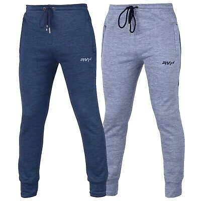 Mens Fleece Tracksuit Bottoms Gym Sports Pants Jogging Jogger Running Trousers