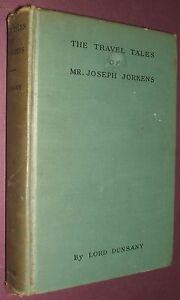 1st-Edition-1931-The-Travel-Tales-of-Mr-Joseph-Jorkins-by-Lord-Dunsany-Fantasy