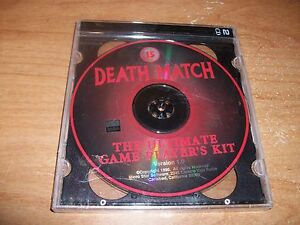 Death-Match-The-Ultimate-Game-Player-039-s-Kit-Version-1-2-CD-Set-1996-NEW