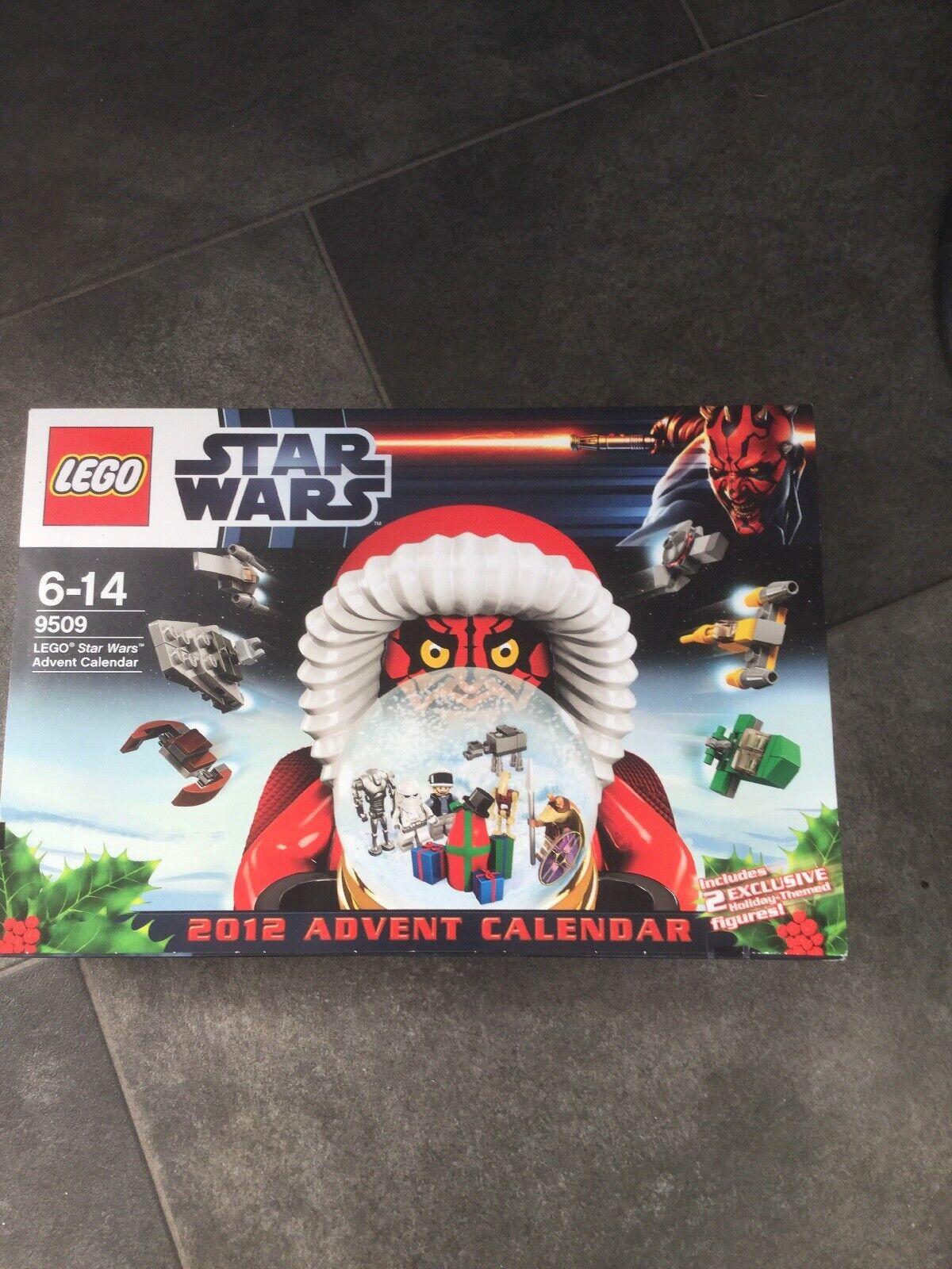 LEGO 9509 STAR WARS ADVENT CALENDAR NEW SEALED 2012 COMPLETE
