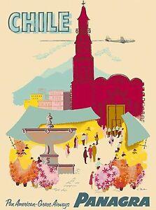 Algeria via Marseilles North Africa Vintage Travel Advertisement Poster Print