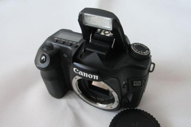 Canon EOS 40D 10.1MP Digital-SLR DSLR Camera Body Only - CHEAP
