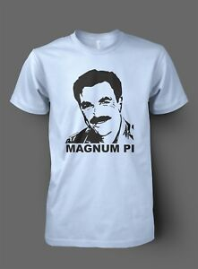752e7ab30 Magnum PI inspired Tom Selleck T shirt - Retro Classic TV unofficial ...