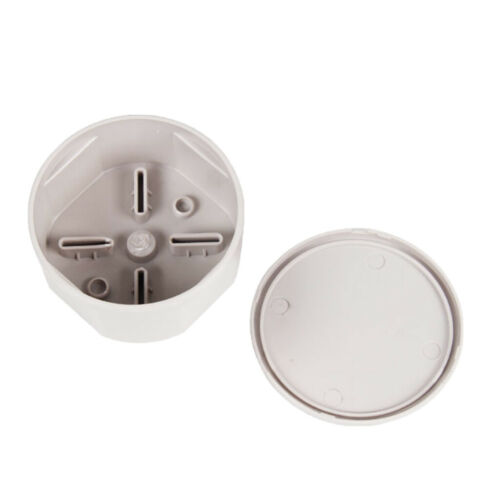 """ABS Plastic Waterproof Electric Junction Box Project Box Round 3.1x1.6/"""""""